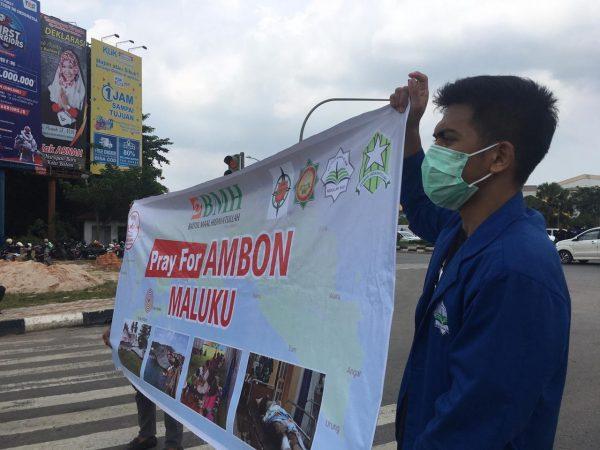 Aksi Galang Dana untuk Korban Bencana