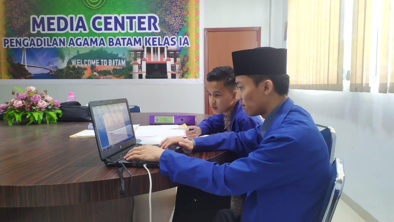 Kegiatan PKL Mahasiswa Hukum di Pengadilan Agama Kota Batam