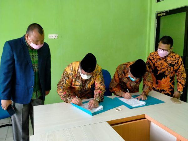Penandatanganan MoU dengan Kementerian Agama Kota Batam